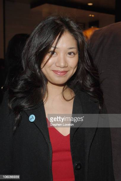 Lisa Lapira during 5th Annual Tribeca Film Festival The Big Bad Swim Reception at Mo Bar at The Mandarin Oriental in New York City New York United...