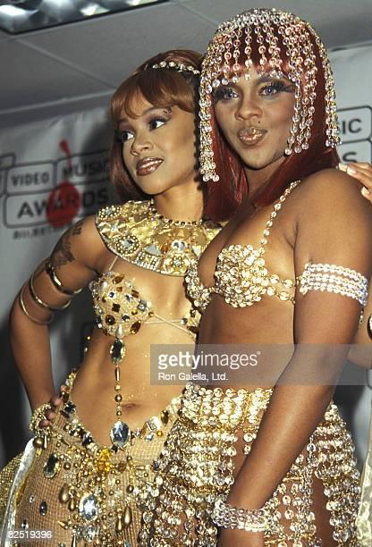 Lisa Left Eye Lopes and Lil Kim