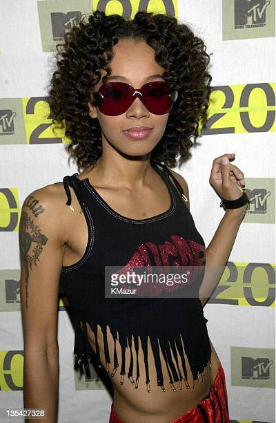 Lisa Left Eye Lopes arrives at MTV20 Live and Almost Legal on August 1 2001 at the Hammerstein Ballroom in New York Lopes was killed in a car crash...