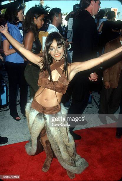 Lisa Left Eye Lopes at the 1999 Source Hip Hop Awards at the Pantages Theater August 18 1999 Lopes was killed in a car crash in the Honduras April 25...