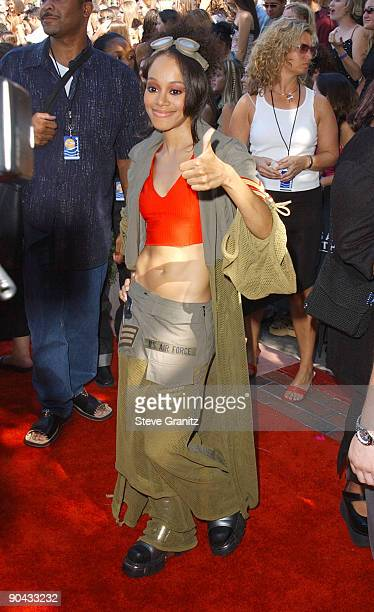 Lisa Left Eye Lopes of TLC at the 2001 Teen Choice Awards August 12 2001 at the Universal Amphitheater Lopes was killed in a car crash in the...