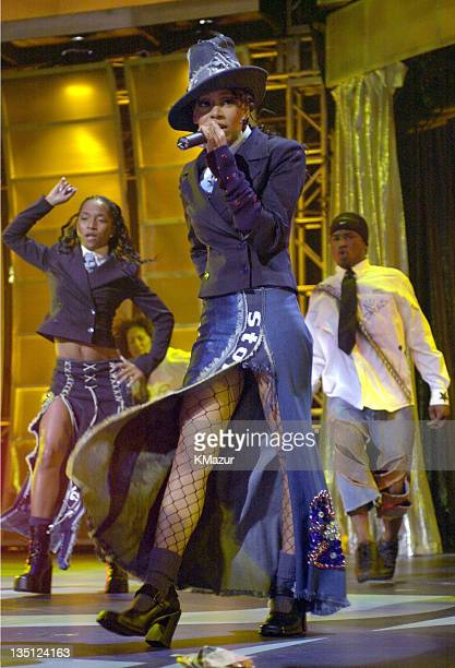 Lisa Left Eye Lopes performs with TLC at MTV20 Live and Almost Legal on August 1 2001 Lopes was killed in a car crash in the Honduras April 25 2002
