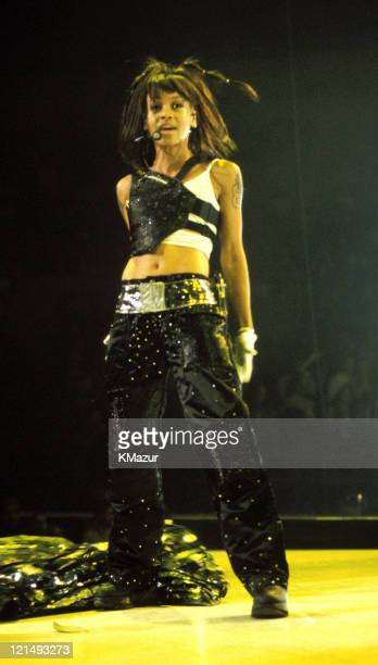 Lisa Left Eye Lopes photographed during Christina Aguilera and TLC Live at Madison Square Garden Lisa Left Eye Lopes was killed in a car crash in the...