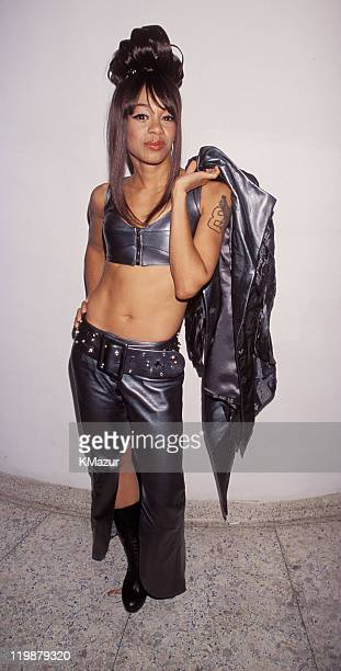Lisa Left Eye Lopes photographed during the 1999 VH1 Fashion Awards at the New York Armory Lopes was killed in a car crash in the Honduras April 25...