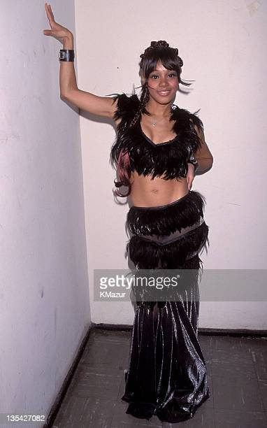 Lisa Left Eye Lopes photographed during the Essence Awards Lopes was killed in a car crash in the Honduras April 25 2002