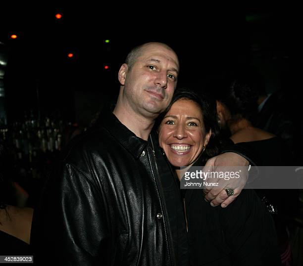 Lisa Leone and guest during 4th Annual Tribeca Film Festival Just For Kicks After Party at Kos in New York City New York United States