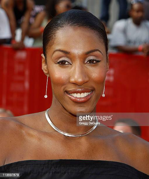 Lisa Leslie during 2003 ESPY Awards Arrivals at Kodak Theatre in Hollywood California United States