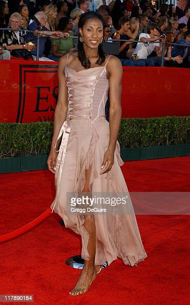 Lisa Leslie during 2004 ESPY Awards Arrivals at Kodak Theatre in Hollywood California United States