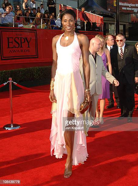 Lisa Leslie during 2005 ESPY Awards Arrivals at Kodak Theatre in Hollywood California United States