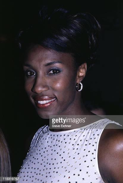Lisa Leslie during Lisa Leslie 8291996 in New York City New York United States