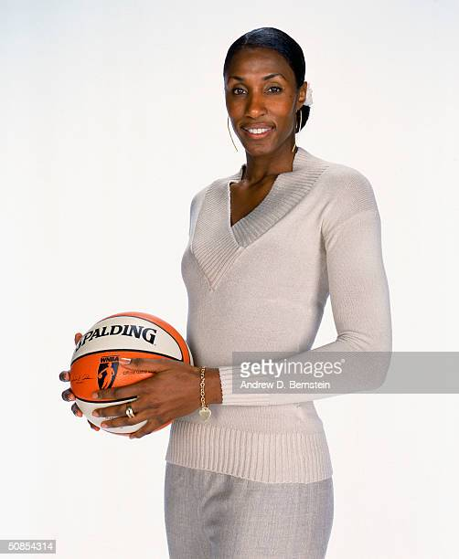 Lisa Leslie of the Los Angeles Sparks poses for a Media Day Portrait at Staples Center on May 10 2004 in Los Angeles California NOTE TO USER User...