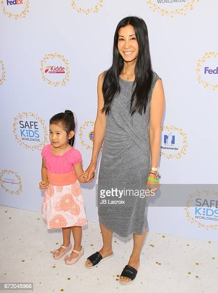 Lisa Ling and Jett Ling Song attend the Safe Kids Day on ...