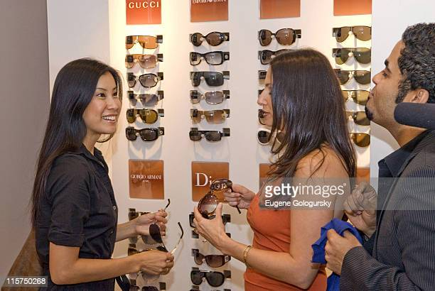 687c461979a22 Lisa Ling and Safilo USA Solstice s Eden Wexler during Solstice Sunglass  Boutique Celebrates 1st Day