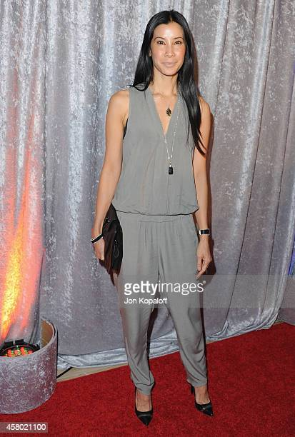 Lisa Ling arrives at the 25th Annual IWMF Courage In Journalism Awards at The Beverly Hilton Hotel on October 28 2014 in Beverly Hills California