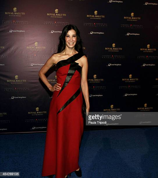 Lisa Ling attends the 12th Annual Unforgettable Gala at Park Plaza on December 7 2013 in Los Angeles California