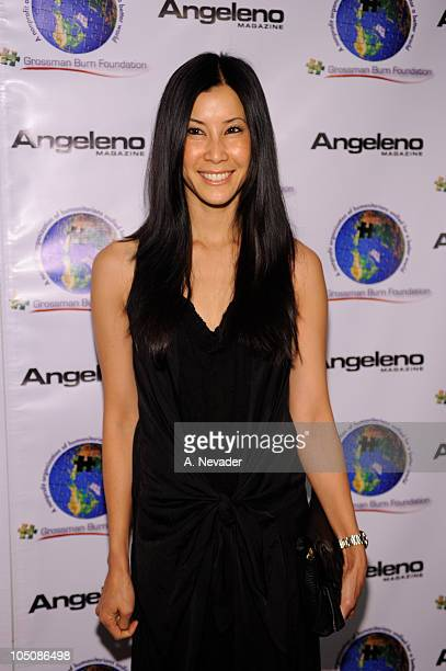 Lisa Ling attends the Grossman Burn Foundation's Art of Humanity Gala at the SLS Hotel on October 8 2010 in Beverly Hills California