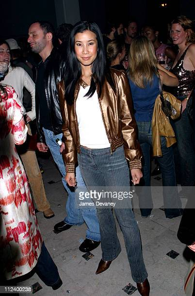 Lisa Ling during Miss Sixty Store Opening AfterParty at Tribeca in New York City New York United States