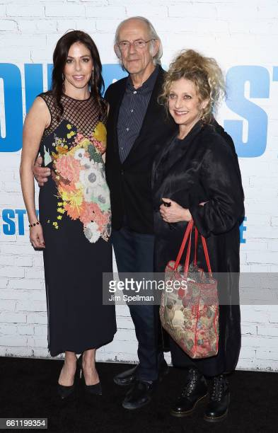 Lisa Loiacono actors Christopher Lloyd and Carol Kane attend the Going In Style New York premiere at SVA Theatre on March 30 2017 in New York City