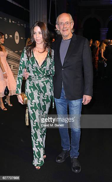 Lisa Loiacono and Christopher Lloyd attend at The British Independent Film Awards Old Billingsgate Market on December 4 2016 in London England