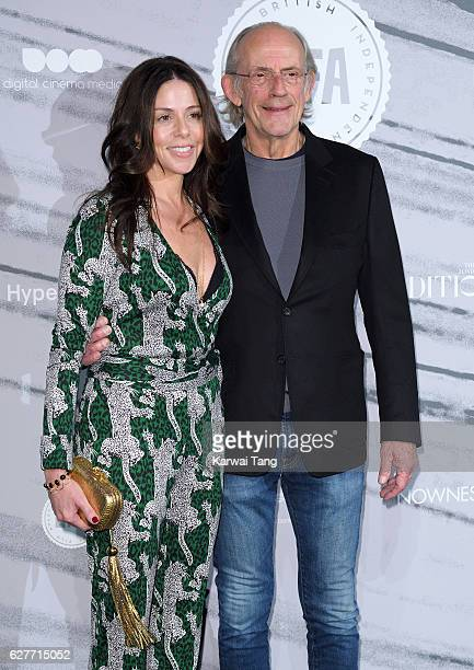 Lisa Loiacono and Christopher Lloyd attend at The British Independent Film Awards at Old Billingsgate Market on December 4 2016 in London England