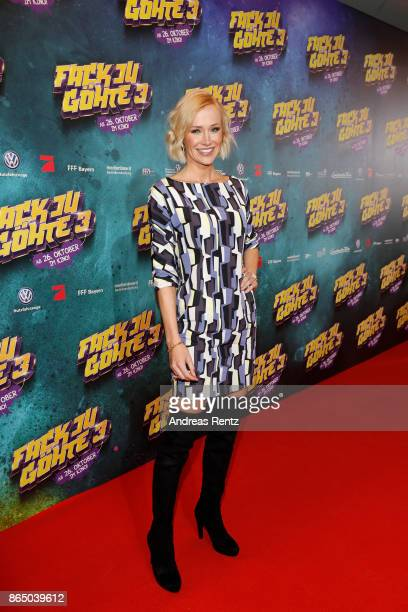 Lisa Loch attends the 'Fack ju Goehte 3' premiere at Mathaeser Filmpalast on October 22 2017 in Munich Germany