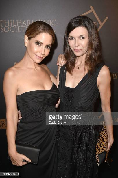 Lisa LoCicero and Finola Hughes attend the Mariinsky Orchestra Concert in honor of Henry Segerstrom and the 50th anniversary of South Coast Plaza on...