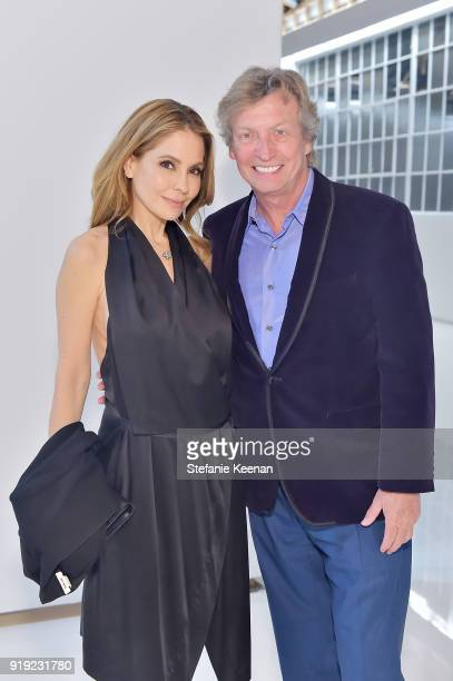 Lisa Locicero and Nigel Lythgoe attend Mr Chow 50 Years on February 16 2018 in Vernon California