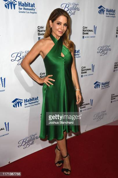 Lisa LoCicero attends Habitat LA 2019 Los Angeles Builders Ball at The Beverly Hilton Hotel on September 26 2019 in Beverly Hills California