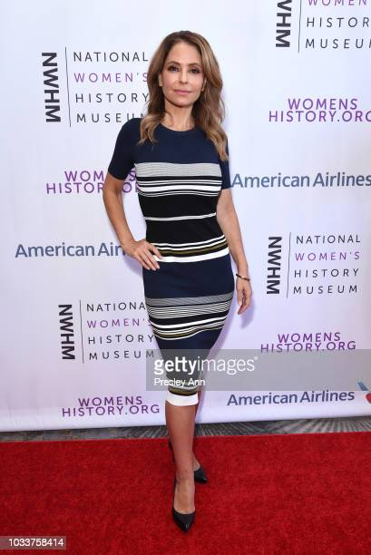 Lisa LoCicero attends National Women's History Museum's 7th Annual Women Making History Awards at The Beverly Hilton Hotel on September 15 2018 in...