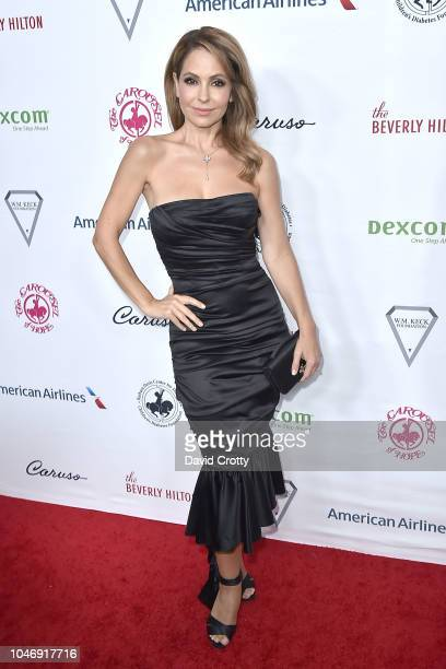 Lisa LoCicero attends the 2018 Carousel Of Hope Ball at The Beverly Hilton Hotel on October 6 2018 in Beverly Hills California