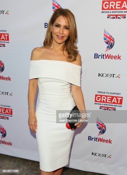 Lisa LoCicero attends the BritWeek 2018 Innovation Creativity Awards at The Fairmont Miramar Hotel Bungalows on May 4 2018 in Santa Monica California