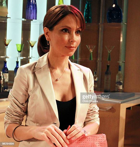 HOSPITAL Lisa LoCicero in a scene that airs the week of April 19 2010 on Walt Disney Television via Getty Images Daytime's General Hospital General...