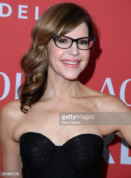 Lisa Loeb arrives at the 60th Annual GRAMMY Awards MusiCares Person Of The Year Honoring Fleetwood Mac on January 26 2018 in New York City