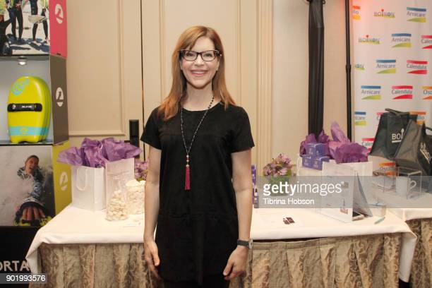 Lisa Loeb attends the HBO LUXURY LOUNGE presented by ANCESTRY on January 6 2018 in Beverly Hills California