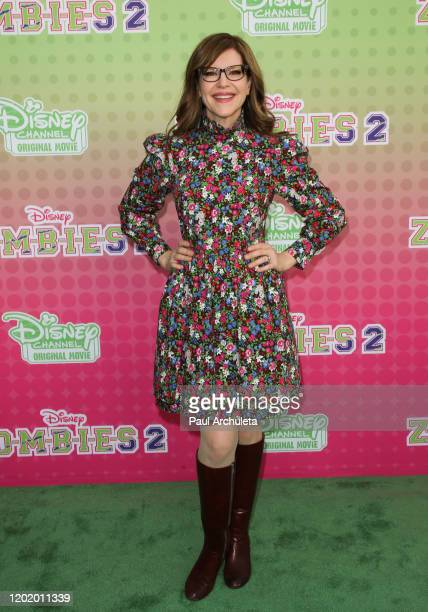 "Lisa Loeb attends the screening of the Disney Channel original movie ""ZOMBIES 2"" at Walt Disney Studios Main Theater on January 25, 2020 in Burbank,..."