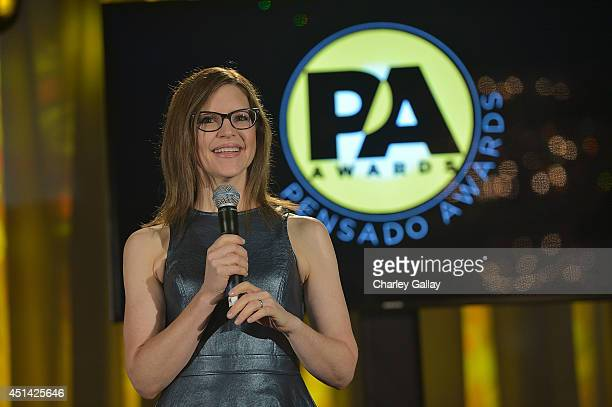 Lisa Loeb cohosts The Pensado Awards at Fairmont Miramar Hotel on June 28 2014 in Santa Monica California