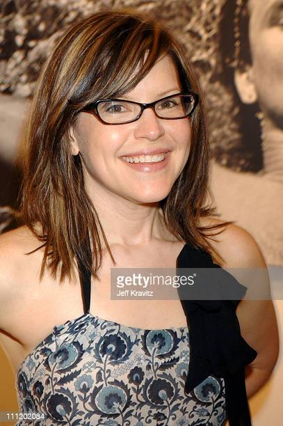 Lisa Loeb during Andy Summers of The Police Photo Exhibit at Frank Pictures Gallery in Santa Monica California United States