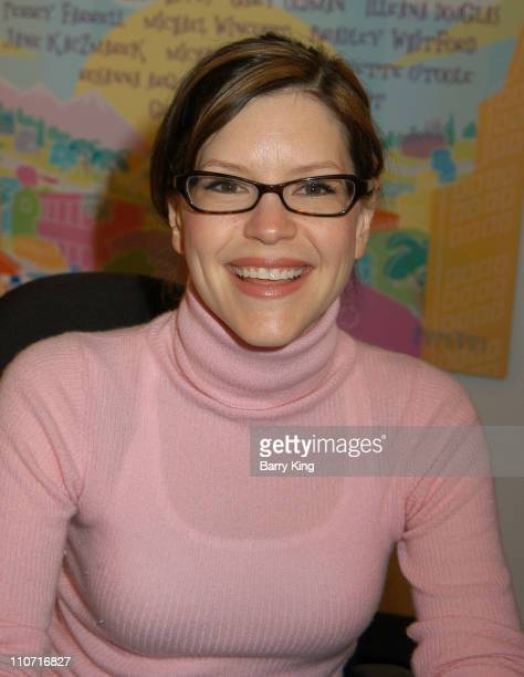 Lisa Loeb during CD Launch Party For 'A World Of Happiness' at Storyopolis in Los Angeles California United States