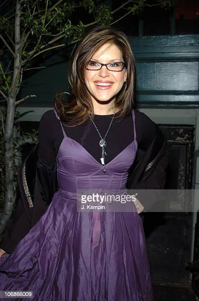 Lisa Loeb during Celebrity Sightings Outside Indochine Bar Restaurant in New York City January 17 2006 at Indochine in New York City New York United...