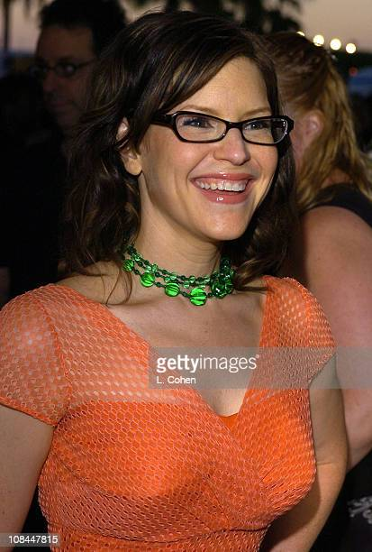 Lisa Loeb during Hairspray Opening Night Los Angeles Red Carpet at Pantages Theatre in Los Angeles California United States