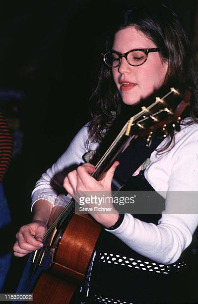 Lisa Loeb during Lisa Loeb in Concert at Wetlands 1994 at Wetlands in New York City New York United States