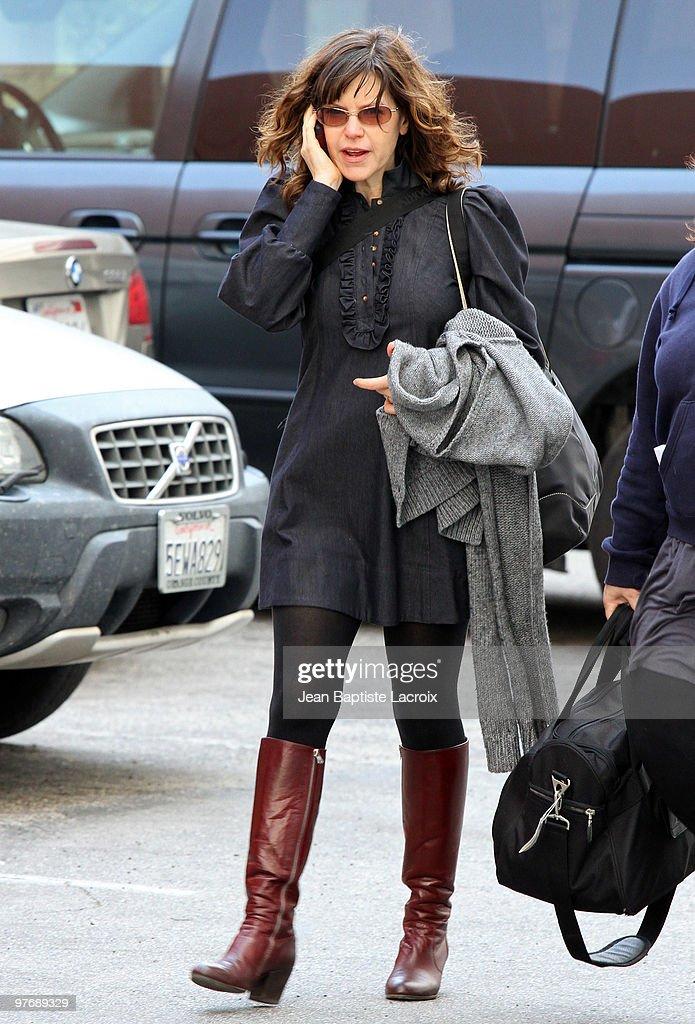 Lisa Loeb is seen on March 13, 2010 in Santa Monica, California.