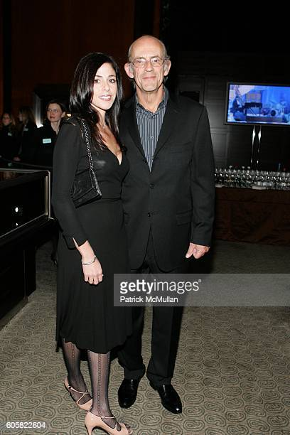 Lisa Loiacono and Christopher Lloyd attend Tiffany Co Host the Launch of the 2007 Blue Book Collection at Tiffany Co on October 23 2006 in New York...