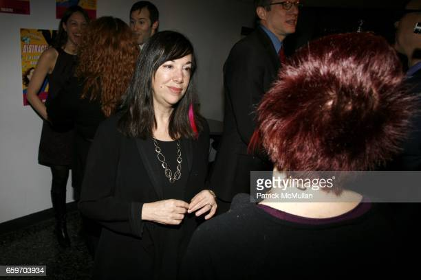 Lisa Loomer attends Opening night of DISTRACTED at Laura Pels Theatre on March 4 2009 in New York City