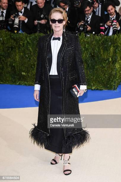 Lisa Love attends 'Rei Kawakubo/Comme des Garcons Art Of The InBetween' Costume Institute Gala Arrivals at Metropolitan Museum of Art on May 1 2017...
