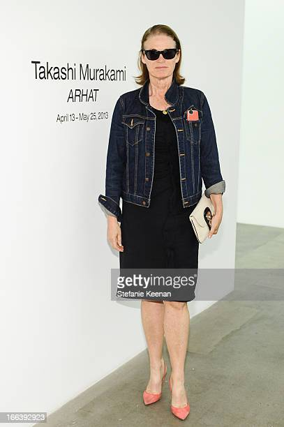 Lisa Love attends Takashi Murakami Private Preview And Dinner At Blum Poe Los Angeles on April 11 2013 in Los Angeles California