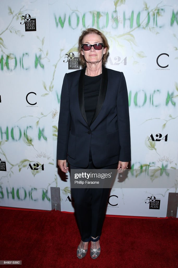 Lisa Love attends the premiere of A24's 'Woodshock' at ArcLight Cinemas on September 18, 2017 in Hollywood, California.