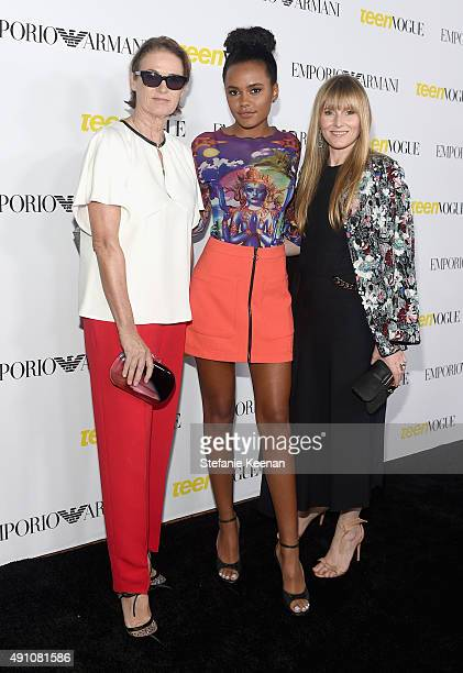 Lisa Love West Coast Director of Vogue and Teen Vogue Ava Dash and Amy Astley Editor in Chief at Teen Vogue attend Teen Vogue Celebrates the 13th...