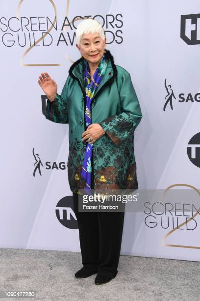 Lisa Lu attends the 25th Annual Screen ActorsGuild Awards at The Shrine Auditorium on January 27 2019 in Los Angeles California