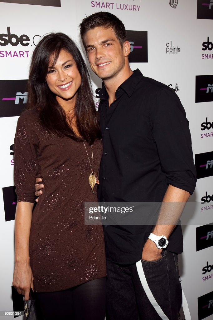 Lisa Mae and Rick Malambri attend Mi-6 Nightclub Grand Opening Party on September 15, 2009 in West Hollywood, California.